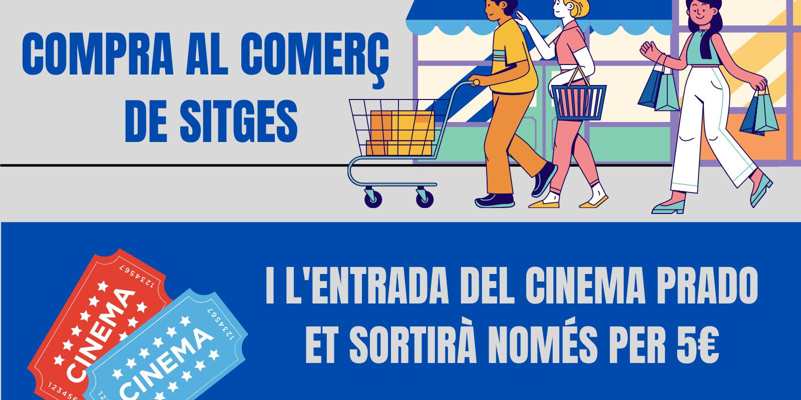 Descomptes de cinema per comprar al comerç local